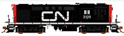 Rapido 1/87 Ho Cn Canadian National Mlw Rs-18 Rd. 3105 Dc / Silent 32008 F/s