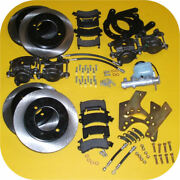 Front And Rear Disc Brake Conversion Kit Master Cyl For Toyota Land Cruiser Fj40