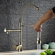 Bathroom Kitchen Sink Faucet Mixer Pull Out Head Hot Cold Water Nozzle Tap Brass