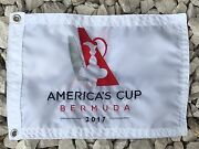 Americaand039s Cup 2017 Custom Made Boat Flag White 12x18 Embroidered Flag