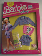 Genuine Barbie Disney Character Fashions Mickey Mouse Denim Outfit