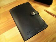 Personalized Leather Journal Cover. Custom Handmade Diary With Book .