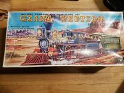 Trade Mark Modern Toys Giant Western Special Express Train Tin Battery Japan