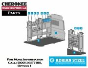 Adrian Steel 5097 Telecommunication Pkg With 14 Shelves For Nv200/city Express