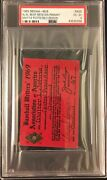 1969 Psa Writers Pass Mets Win Pennant/seattle Pilots Only Yr/munson/fisk Debut