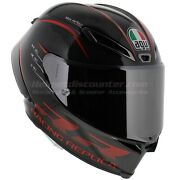 Agv Pista Gp-rr Performance Carbon Black Red Motorcycle Helmet 2020 Free Visor