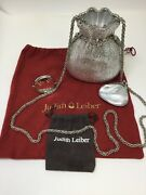 Judith Leiber Crystal Misers Pouch Money Bag Minaudiere Clutch Bag