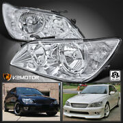 For 2001-2005 Lexus Is300 Clear Replacement Headlights Head Lamps Left+right