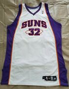 Shaquille Oand039neal Lou Lampson Loa Suns Rare Game Worn Jersey Last All-star Mvp