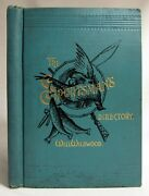 Antique 1891 The Sportsmanand039s Directory Dogs Hunting Fishing Guns Bicycles Sports