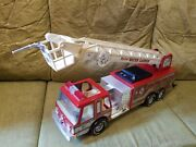 Nylint Water Cannon Fire Truck 1980 Vintage Metal And Plastic Sound Machine Toys