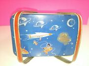 Decoware Mid Century Space Age Atomic Vintage Lunch Box Tote