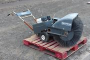 Sweepster 36 Walk Behind Sweeper Usedpoly Wire Brushes Honda Gas Engine