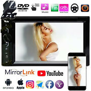 2din Dvd/cd/lcd Player Car Stereo Mirrorlink And Camera For Nissan Altima Frontier