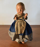 Antique Paranormal Scary Creepy Haunted Looking 13 Composite Doll