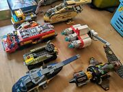 Lego Bulk Lot 100and039s Of Minifigures 6 Kilo+ Building Bricks And Some Space Ships