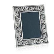 Factory New Buccellati Sterling Silver 'grape Leaf And Vine' 5x7 Frame
