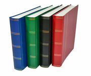 A4 Stock Book Stamp Album With A Choice Of White Or Black Pages - From Andpound4.95