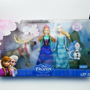 Disney Frozen Doll Giftset Collection Elsa Anna Olaf Sven Exclusive Gift Set Hot