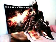 The Dark Knight Rises Poster Cut Out Batman Extreemely Rare Hot Collectable