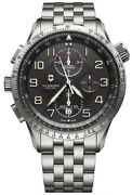 Watch Man Victorinox Airboss V241722 Of Stainless Steel Silver