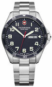 Watch Man Victorinox Field Watch V241851 Of Stainless Steel Silver Plated