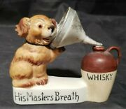 Antique Schafer Vater Figural Flask - His Masters Breath - Germany