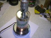 Vintage Bosch Beer Can Table Light Brewed By Jacob Leinenkugel