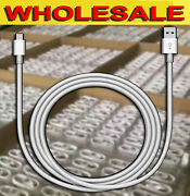 Lot Of 100 / 50 - Usb Data Sync Cable Cord For Cellphones Type C / Micro Usb
