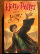 1st Print. First Edition. J.k. Rowling Harry Potter And The Deathly Hallows