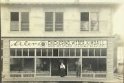 Cabinet Photograph Of Eilers Piano House In Portland Oregon C1900-20