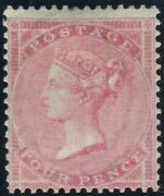 Sg 66 4d Rose-carmine. A Superb Lightly Mounted Mint Example