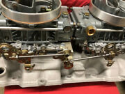 Dual Quad 2x4 Progressive Linkage Kit For 1850 Style Holley Carbs