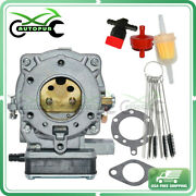Carburetor Assy For Briggs And Stratton 1992 Twin 18 Hp Model Series 422700 Carb