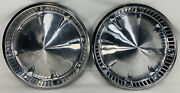 14andrdquo 1950andrsquos Plymouth Hubcaps Wheel Covers Hub Cap 1957 Pointed Roulette 14 Inch