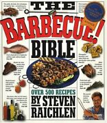 The Barbecue Bible By Raichlen Steven Hardback Book The Fast Free Shipping