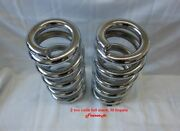 Lowrider Hydraulics 2 Ton Coils Full Stack Fit Chevy Impala 58-64 Chrome