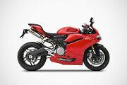 Zard Italia For Ducati 959 Panigale 212 Stand039 Steel Racing Full Exhaust Kit