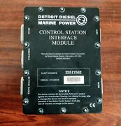Detroit Diesel 23517552 Control Station Interface Module Ddec Iii Csim