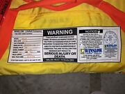 Winslow Offshore Life Raft 4 Person Model 40slop Mfg Date Oct 2013