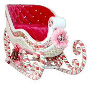 Katherineand039s Collection Sweet Sleigh Tabletop Christmas Decor 28-828360 New Mint