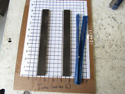 Pair Straight Edge Moulder Blades Bits Knives 5/16 Corrugated Back Shaper Route