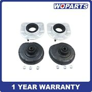 4x Strut Mount Spring Seat Bushing Front Fit For Volvo S60 S80 V70 Xc90 3546238