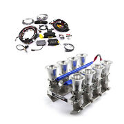 Chevy Gm Ls7 Efi Manifold And Fast Ez-efi 2.0 Self-tuning Fuel Injection System