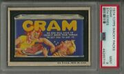 1974 Topps Wacky Packages Cram 5th Series Psa 9 Mint Non-sport Card