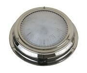 Scandvik Marine 41324 Led Traditional Style Stainless Steel Dome Light
