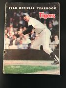 1968 Detroit Tigers Yearbook Signed Al Kaline Ernie Harwell Horton World Champs