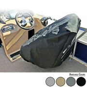 Pontoon Boat Seat Cover Captainand039s Chair Boat Seat Cover / Highest Tear Strength