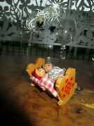 Antique Wooden Christmas Tree Ornament -volkskunst Steinbach -germany