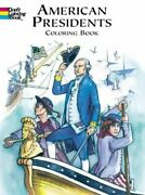 American Presidents Colouring Book Dover Hi... By Copeland Paperback / Softback